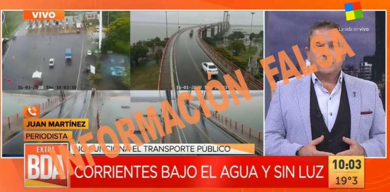 La DPEC desmiente informaciones falsas referidas al servicio en la ciudad de Corrientes