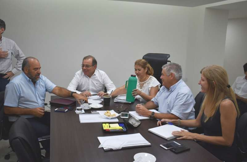 Polich y Tassano se reunieron para congeniar  tareas y obras de Vialidad Urbana