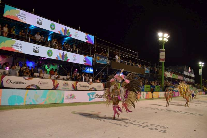 Último fin de semana de corsos en la provincia de Corrientes