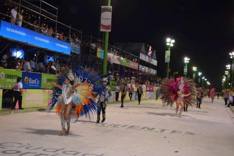 Más de 40 mil personas pasaron por el Corsódromo durante el fin de semana largo de carnaval