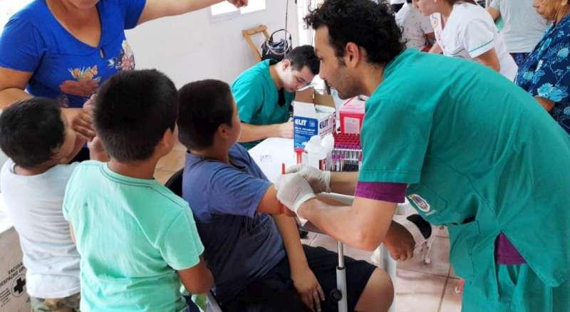 Salud realizó un operativo integral en Isla Apipé Grande