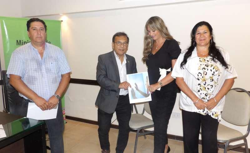 Cardozo firmó un convenio para la instalación de un nuevo Resonador en el Pediátrico