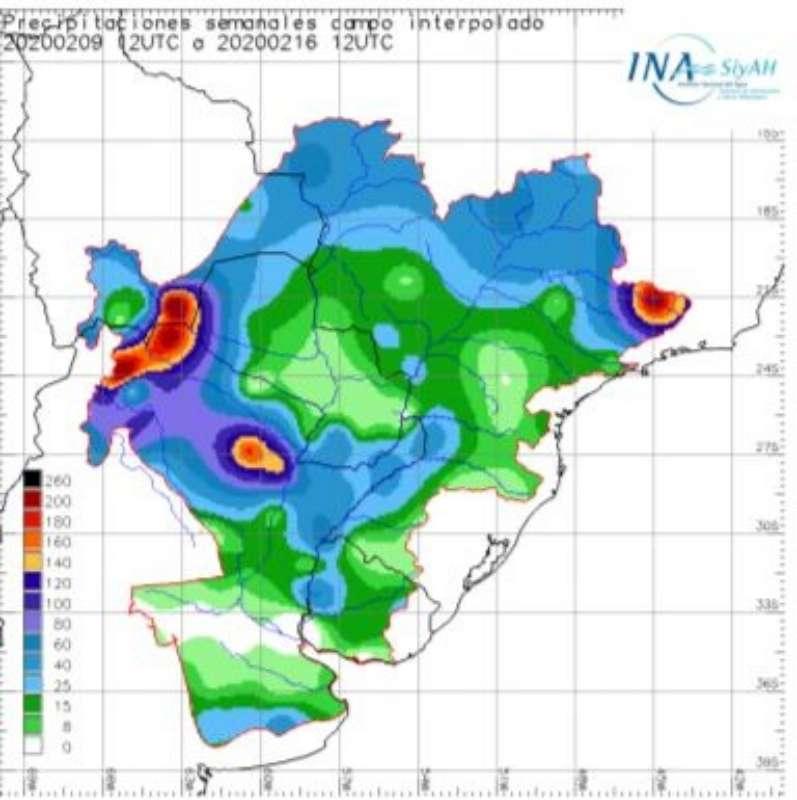 Las lluvias alcanzaron 109,7 mm en la ciudad de Corrientes