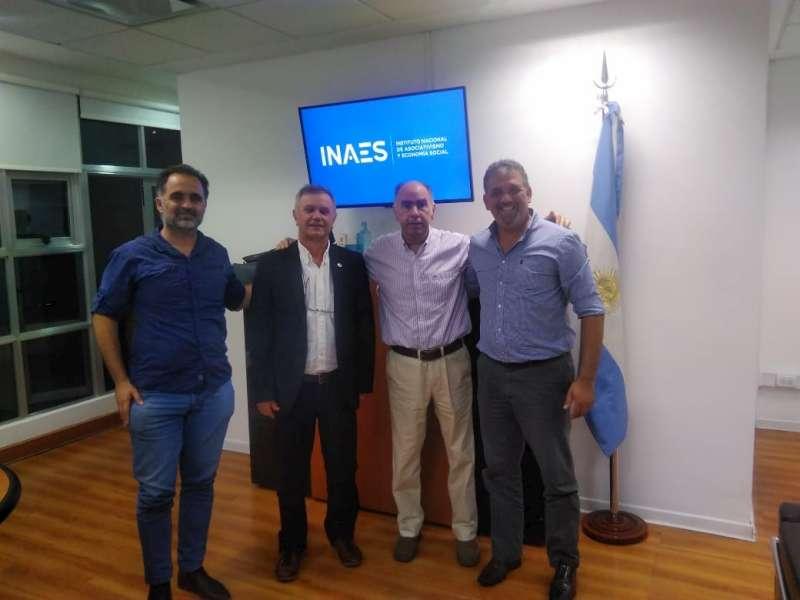 Stvass se reunió con el nuevo presidente del Inaes