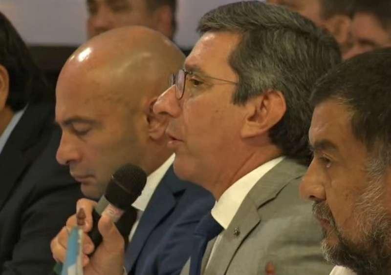 «El espíritu de Corrientes es trabajar con la Nación para combatir el delito»