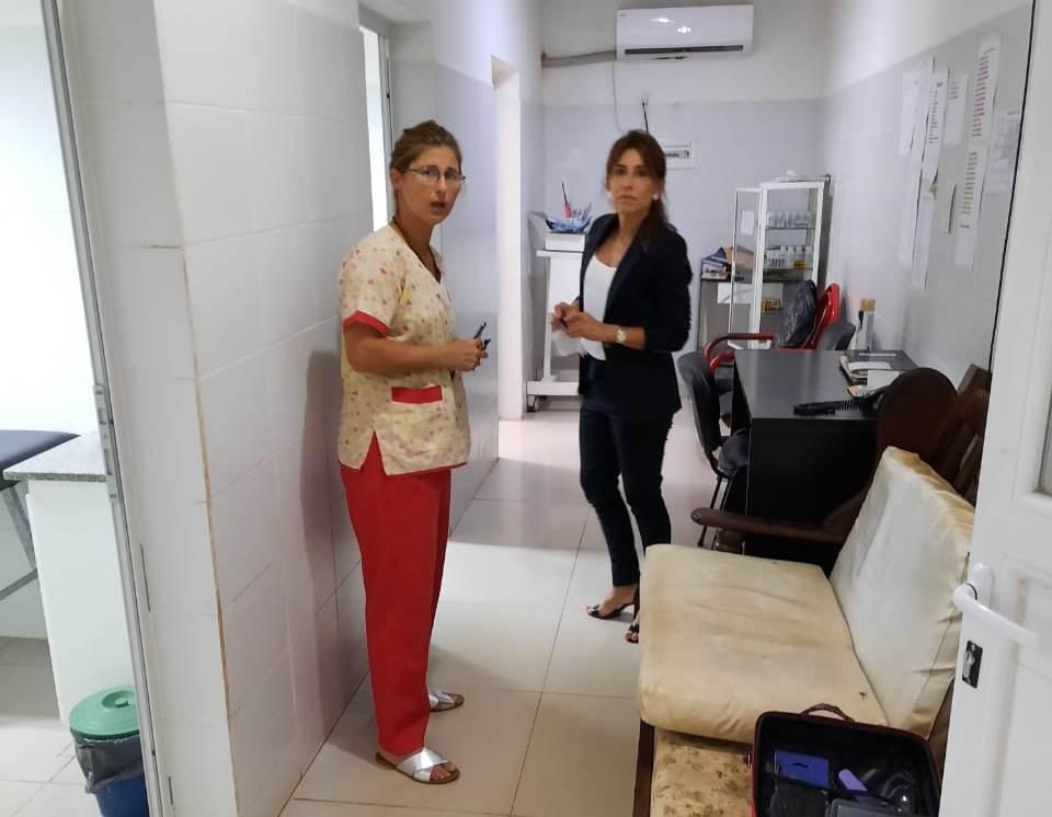 Salud continúa con los relevamientos en hospitales del interior