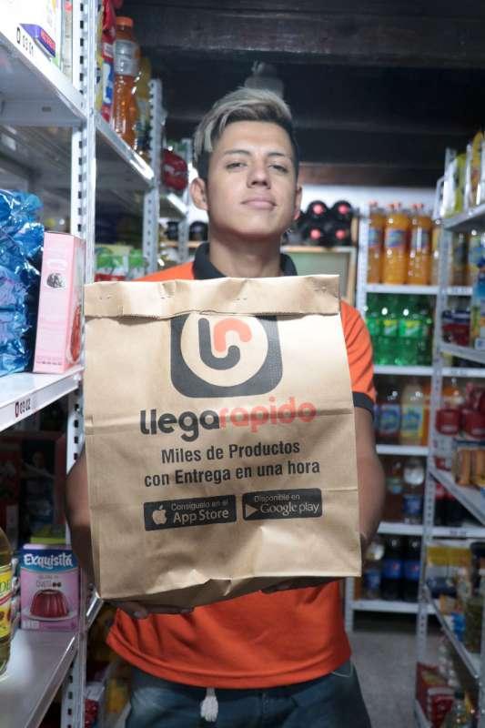 Delivery de productos al alcance del celular