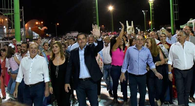 Apertura de la Fiesta: Valdés reinauguró infraestructura para consolidar a Corrientes como Capital Nacional del Carnaval