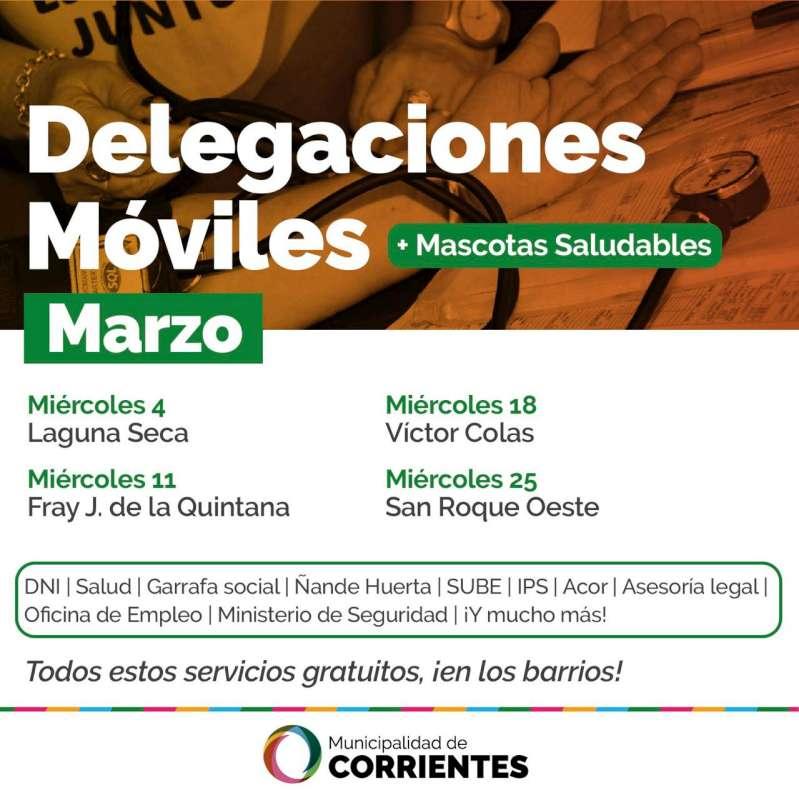 El programa de Delegaciones Móviles vuelve a recorrer los barrios con múltiples servicios gratuitos
