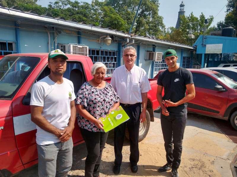 El ICAA donó vehículo a la Cooperativa Fortaleza