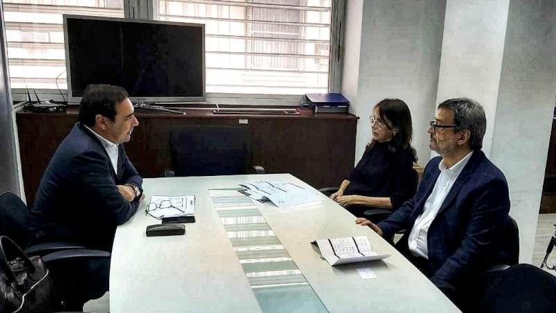 Valdés gestionó nuevos programas para Corrientes ante los ministros del Interior y de Desarrollo Territorial y Hábitat