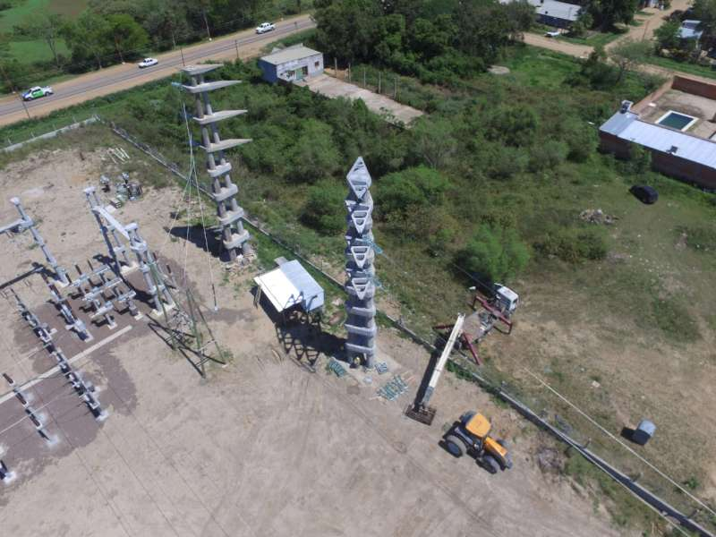 Paso de la Patria: La Estación Transformadora Pirayú se encuentra lista para entrar en servicio