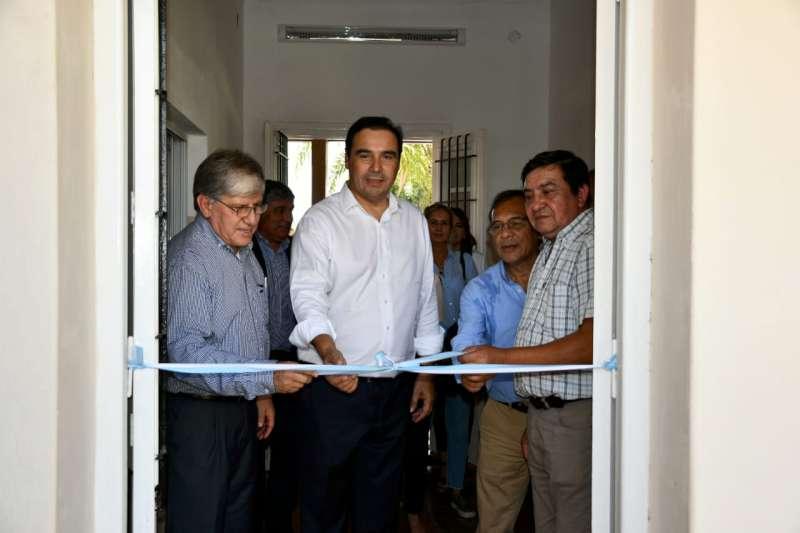 """""""La salud es una inversión"""", subrayó Valdés al inaugurar una sala de atención primaria en San Lorenzo"""