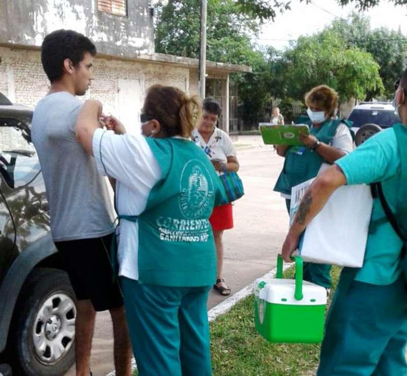 La campaña Salud va a tu casa continúa en la capital y en el interior