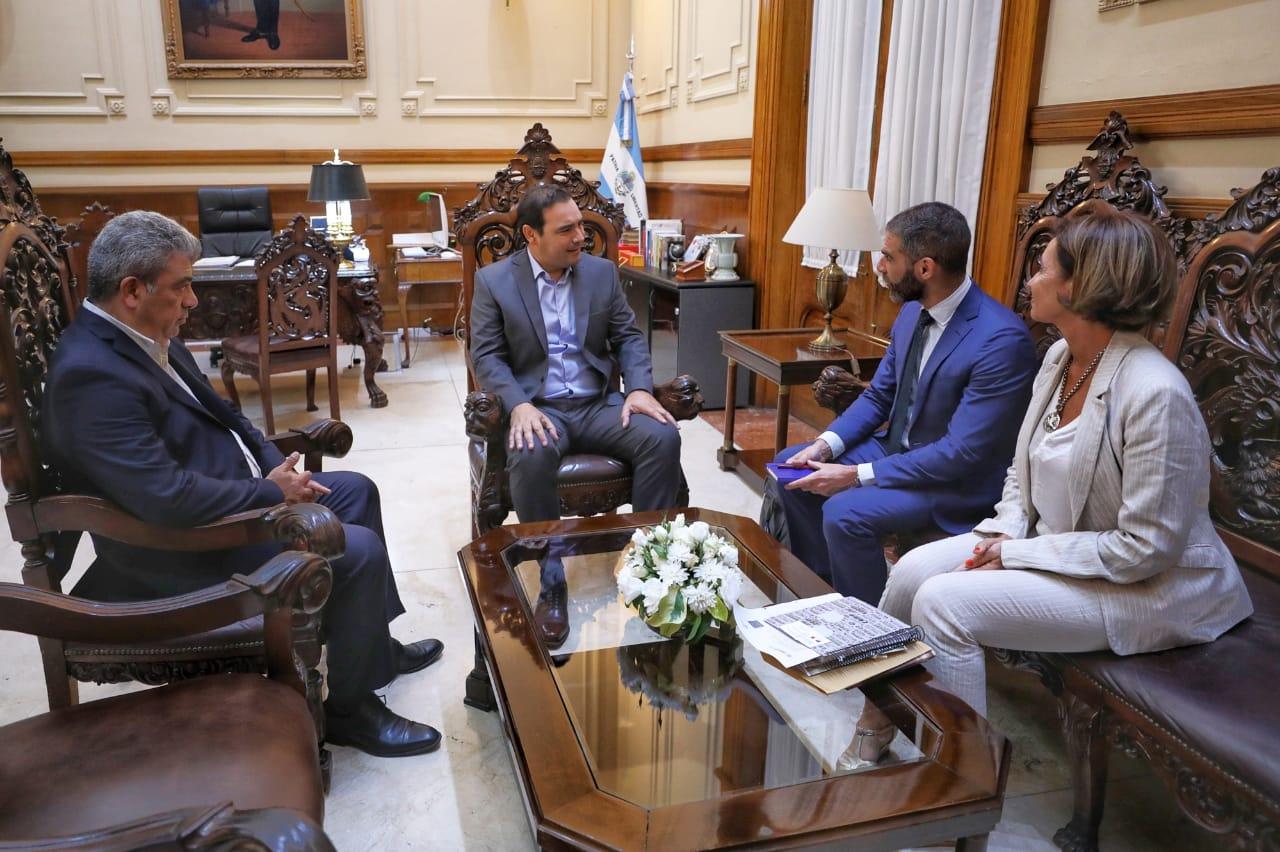 El Gobernador recibió a delegado de la UE para proyectar acuerdos en materia energética y cultural para la provincia