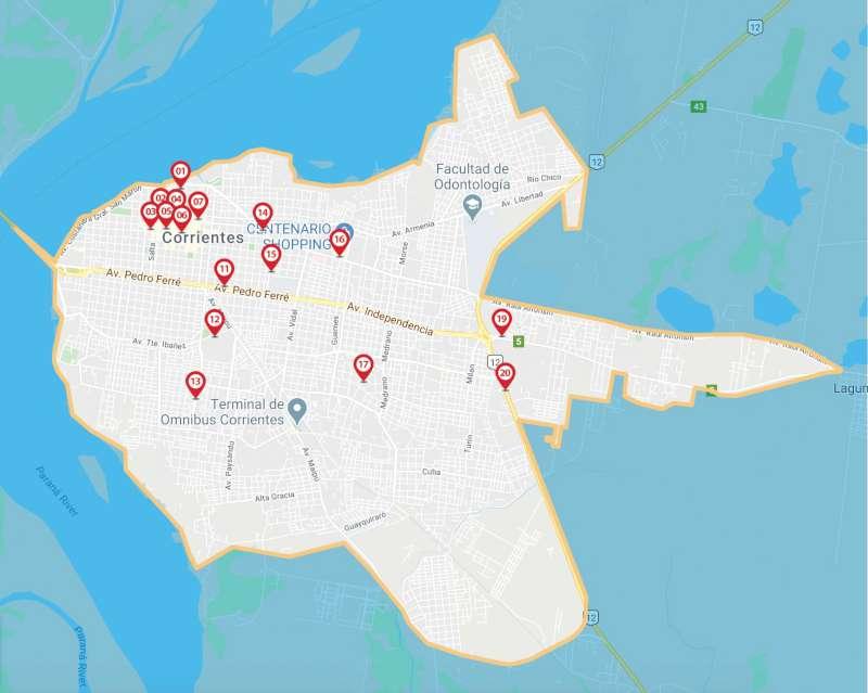 En la Capital se encuentran disponibles 20 puntos de extracción en cajeros automáticos