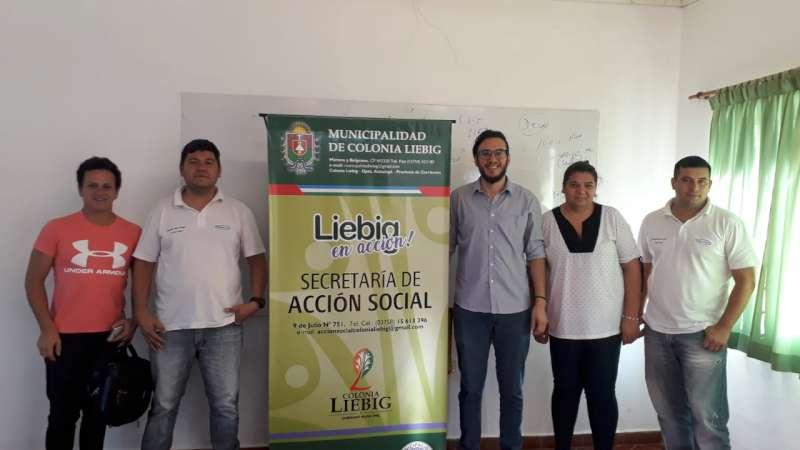 Desarrollo Social visito los  Centros de Ejecución de Colonia Liebig, Garrucho y  Garavi