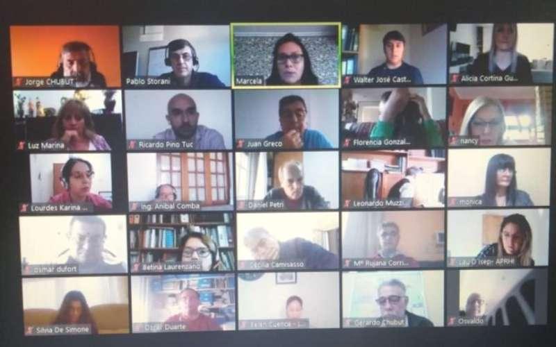 Nueva reunión virtual de organismos hídricos de Argentina
