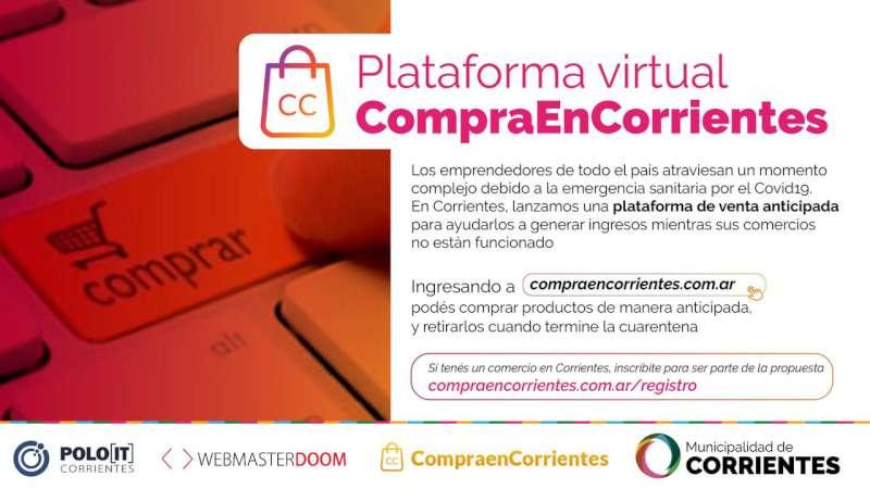 Presentan una plataforma virtual para potenciar ventas de emprendedores correntinos