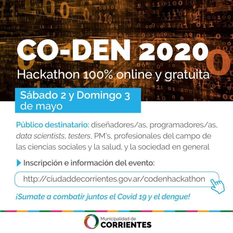 La Municipalidad organiza un hackathon virtual sobre dengue y coronavirus