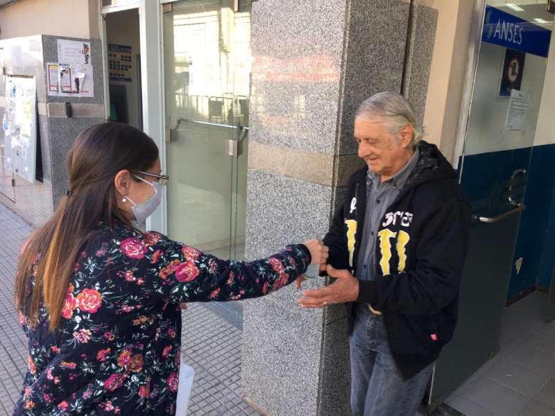 Continúa la asistencia y contención a las personas mayores en el Banco de Corrientes