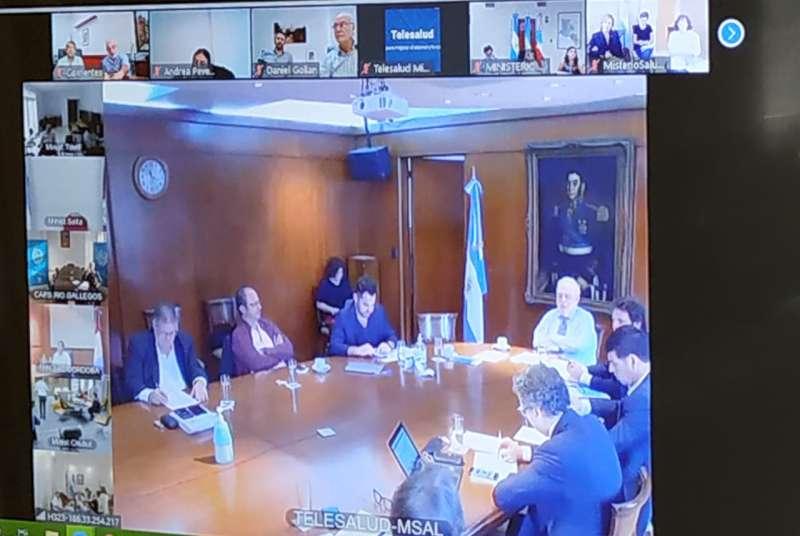 Cardozo participó de una nueva reunión del Consejo Federal de Salud