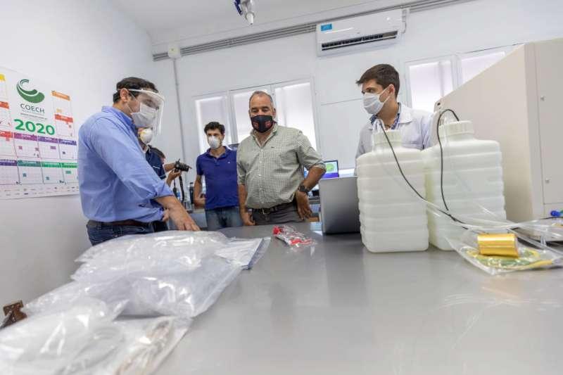 El Laboratorio de Urgencia del Hospital de Campaña Hogar Escuela podrá atender pacientes críticos las 24 horas