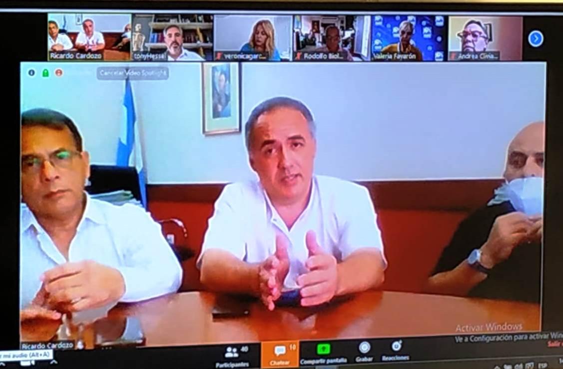 Cardozo se reunió con los clubes de Rotary de toda la provincia