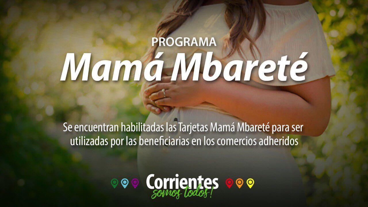 Con aumentos, se encuentran habilitadas las tarjetas Mbareté y Mamá Mbareté