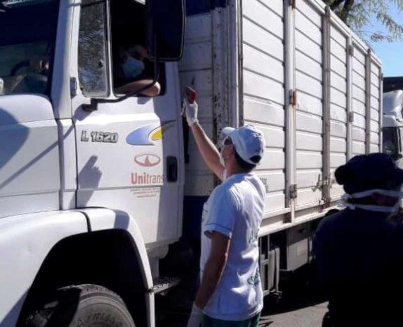 Salud continúa con los controles en el puente Chaco-Corrientes