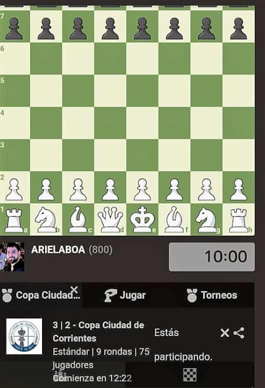 Representantes del club Jaque al Rey se lucieron en el torneo de ajedrez virtual que auspició la Municipalidad