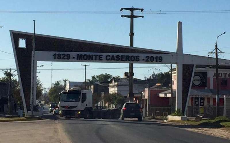 Comenzó la repavimentación de los 30 kilómetros de acceso a Monte Caseros