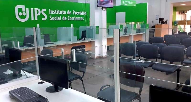 IPS reanuda la atención al público con medidas de protección para Jubilados
