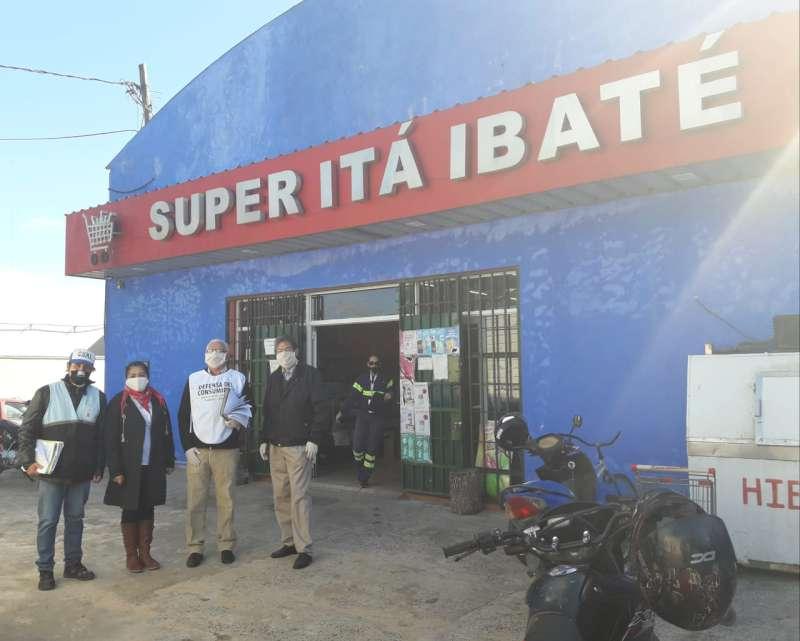 La Provincia controló los Precios Máximos en Itá Ibaté