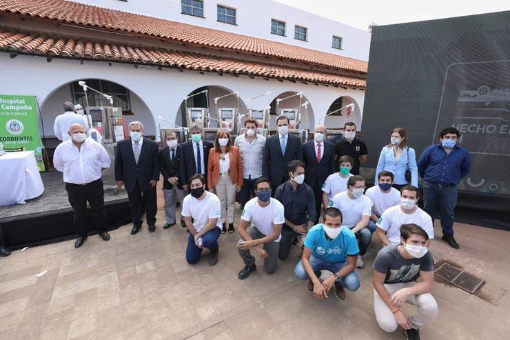 Legislatura de Corrientes distinguió al equipo de la UNNE que ensambló respiradores para Covid-19