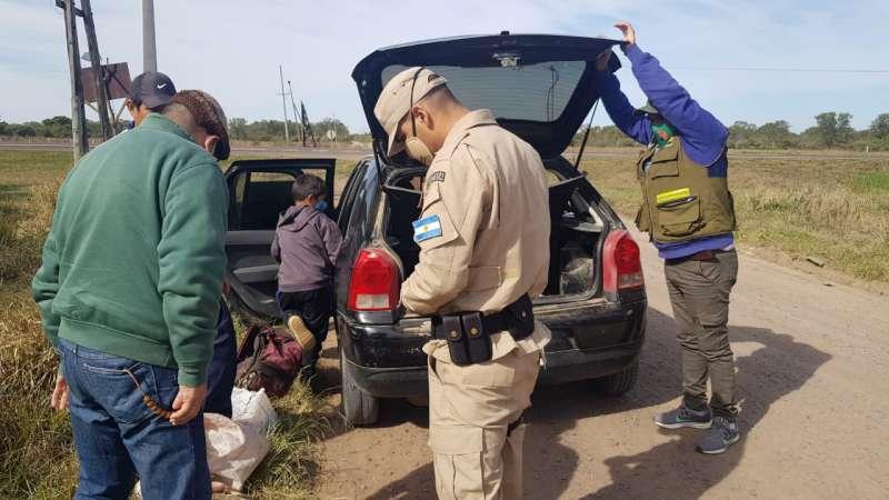 Operativos de control de caza furtiva y Pesca Ilegal