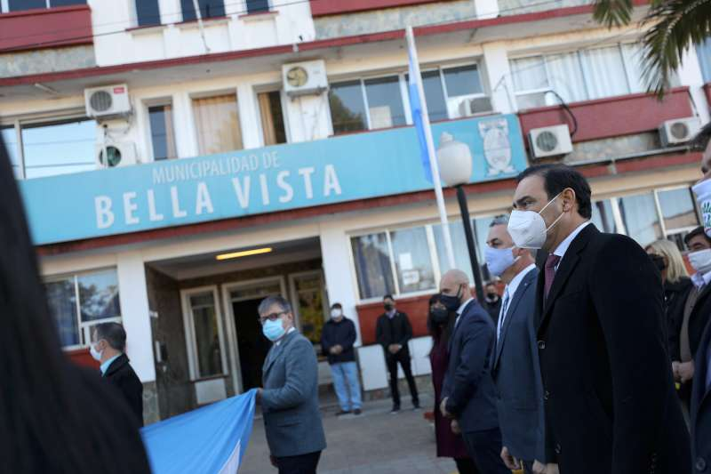 El gobernador Valdés, presente en el aniversario fundacional de Bella Vista