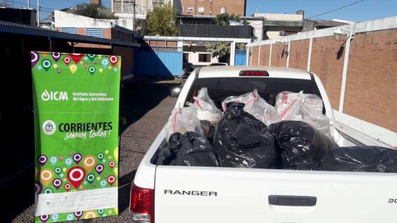 Se entregó material reciclable en el marco del Día del Medio Ambiente