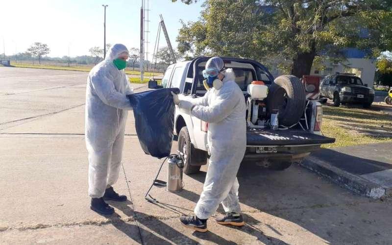 Salud realizó una investigación epidemiológica en el aeropuerto de la ciudad