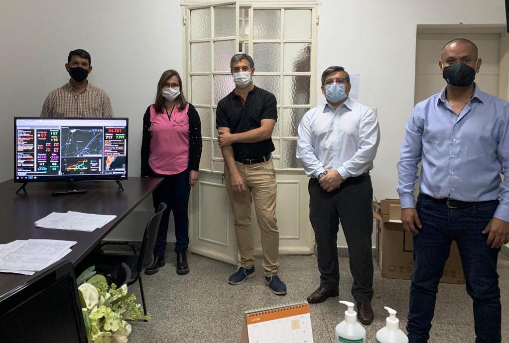Salud conformó un Centro de Monitoreo para Covid-19 en Bella Vista