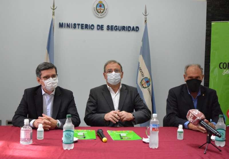 """López Desimoni destacó """"el trabajo coordinado para avanzar hacia una ciudad inteligente"""""""