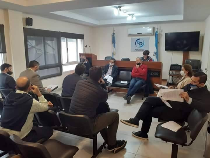 Rivolta se reunió con legisladores para impulsar la Ley de Conciliación Laboral