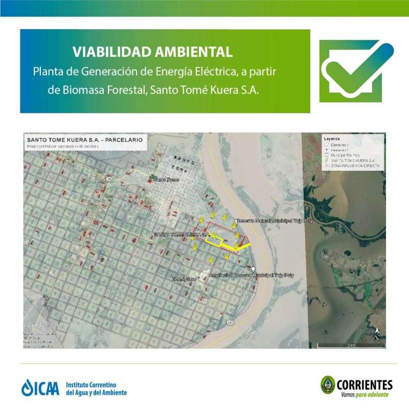 La planta de biomasa de Virasoro cumple con normativa ambiental