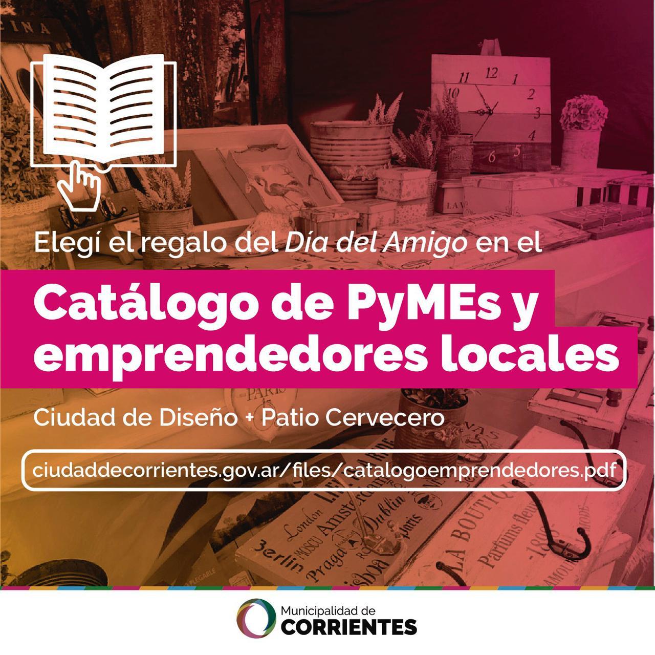 La Municipalidad habilitó un catálogo online con emprendimientos correntinos