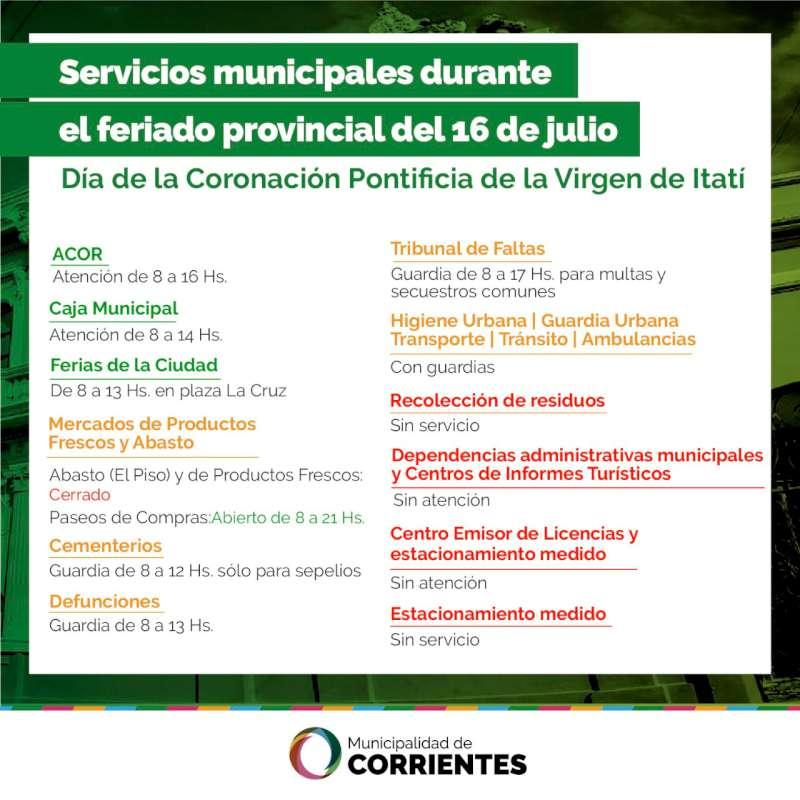 Servicios municipales, este jueves no habrá recolección de residuos