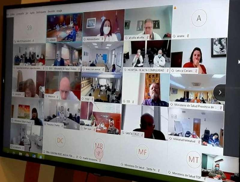 Corrientes participó del encuentro del Consejo Federal de Salud