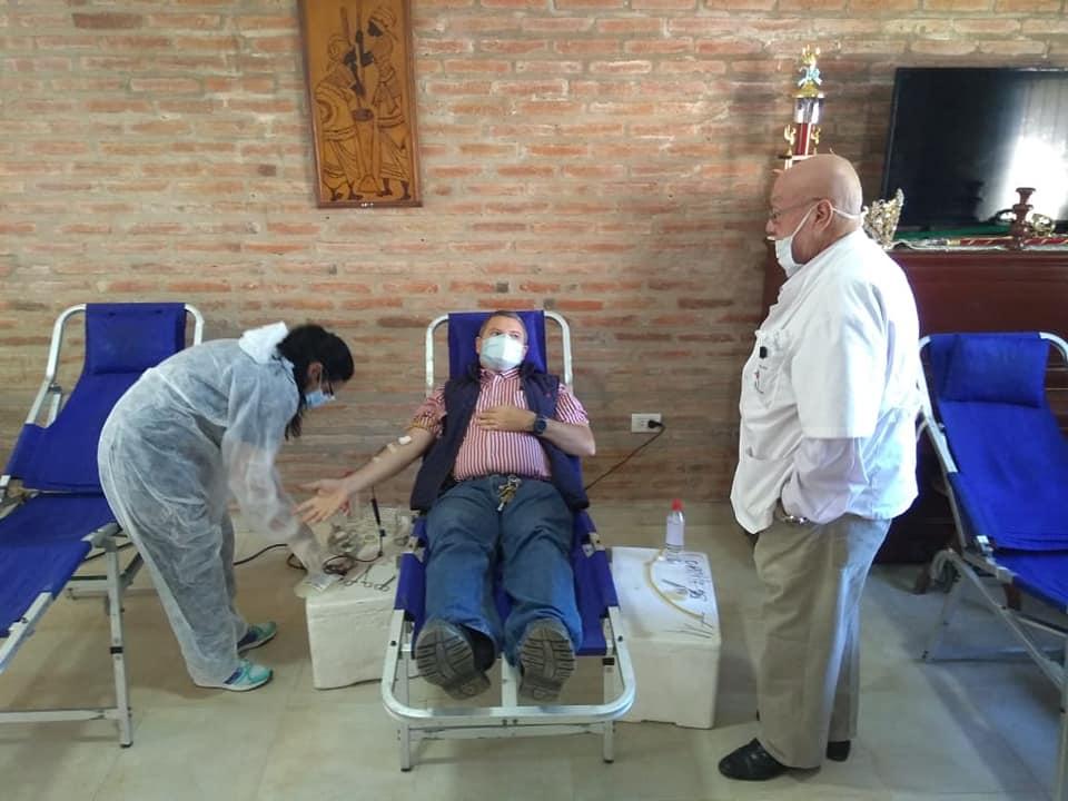 Se realizará una colecta externa de sangre en Ituzaingó