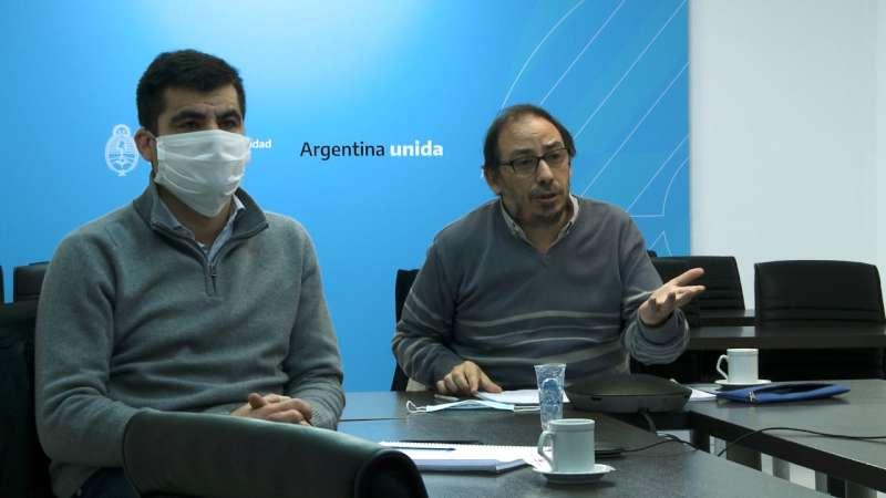 Videoconferencia con las autoridades de los pasos internacionales