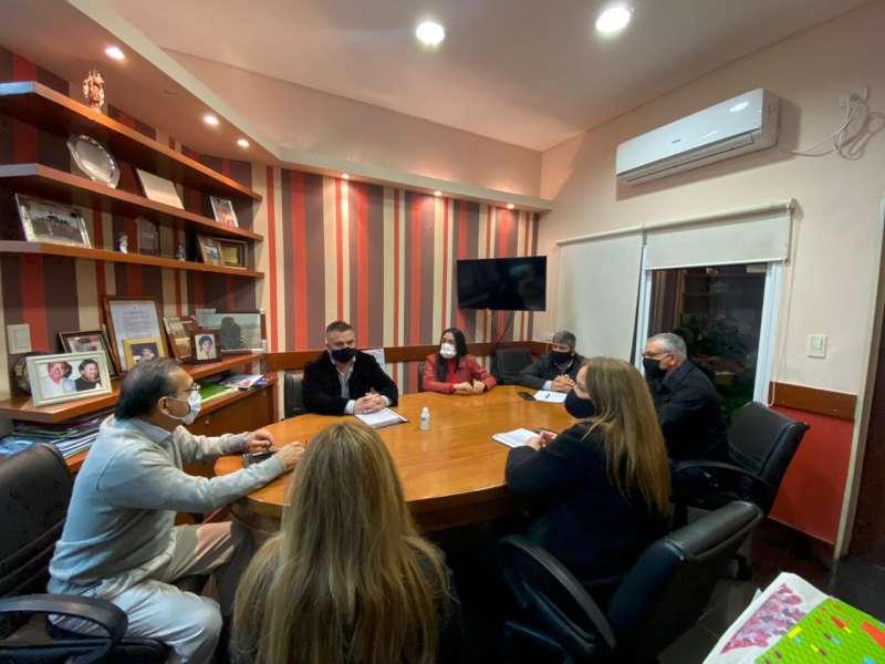 Cardozo presidió una reunión con Diputados de la Comisión de Salud