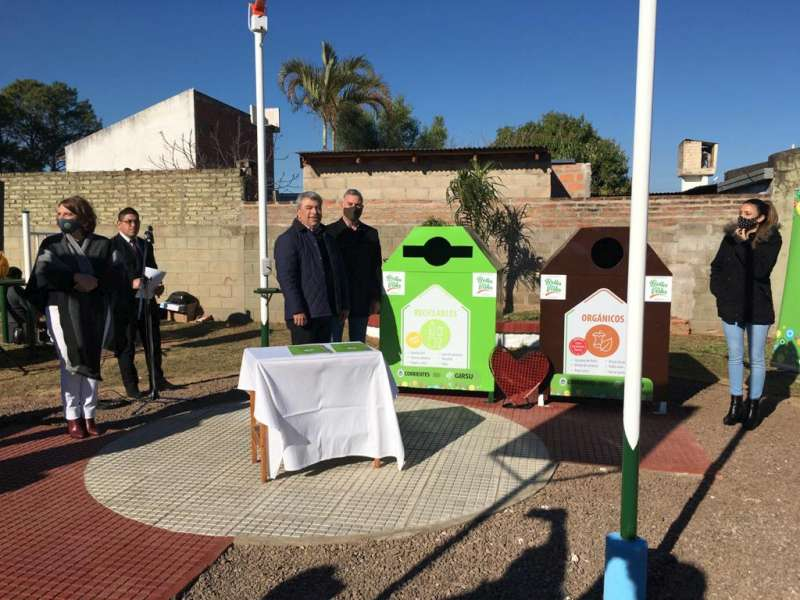 """Ortega. """"La sensibilización de los vecinos es el primer paso para avanzar sobre la separación de residuos"""""""
